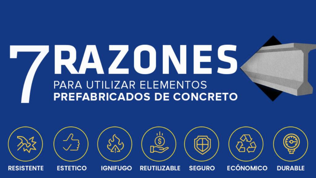7 razones para utilizar elementos prefabricados de concreto